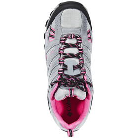 Columbia North Plains Waterproof Shoes Youths monument/wild geranium